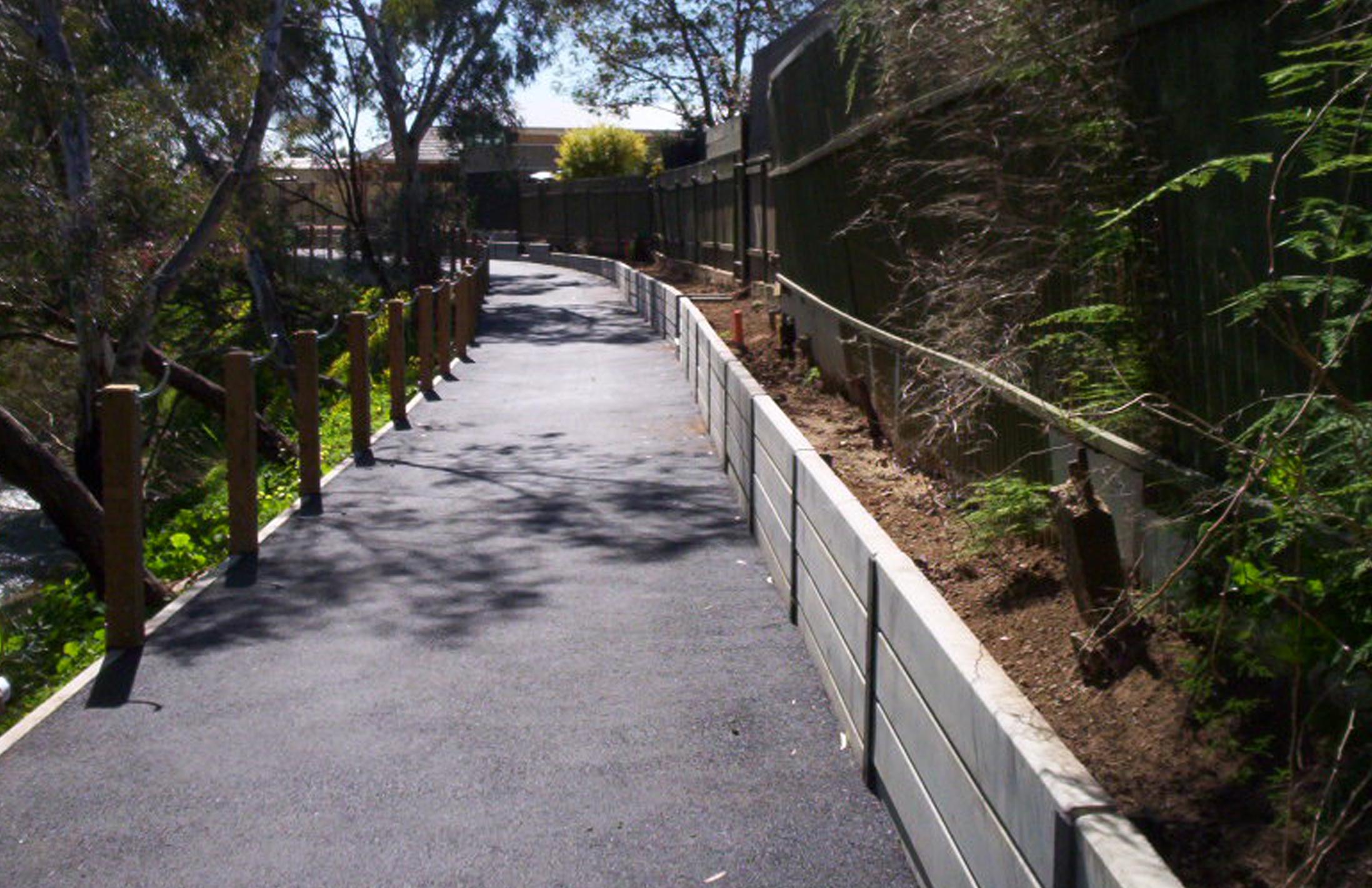 adelaide retaining walls
